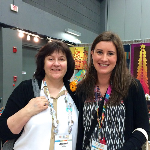 With Leanne from She Can Quilt