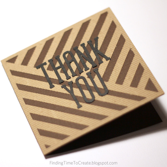 Thank You Card for Guys 2