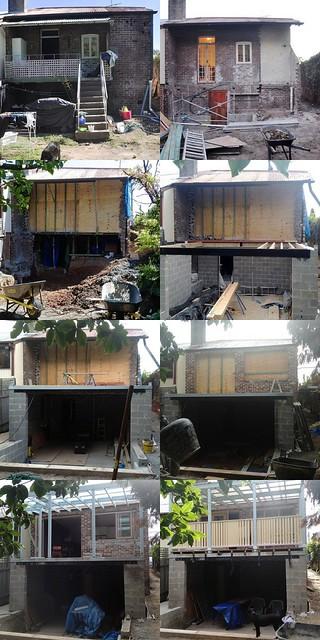 renovation progress