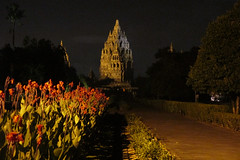 Prambanan in Half-Light