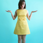 Short Sleeved Francoise Dress