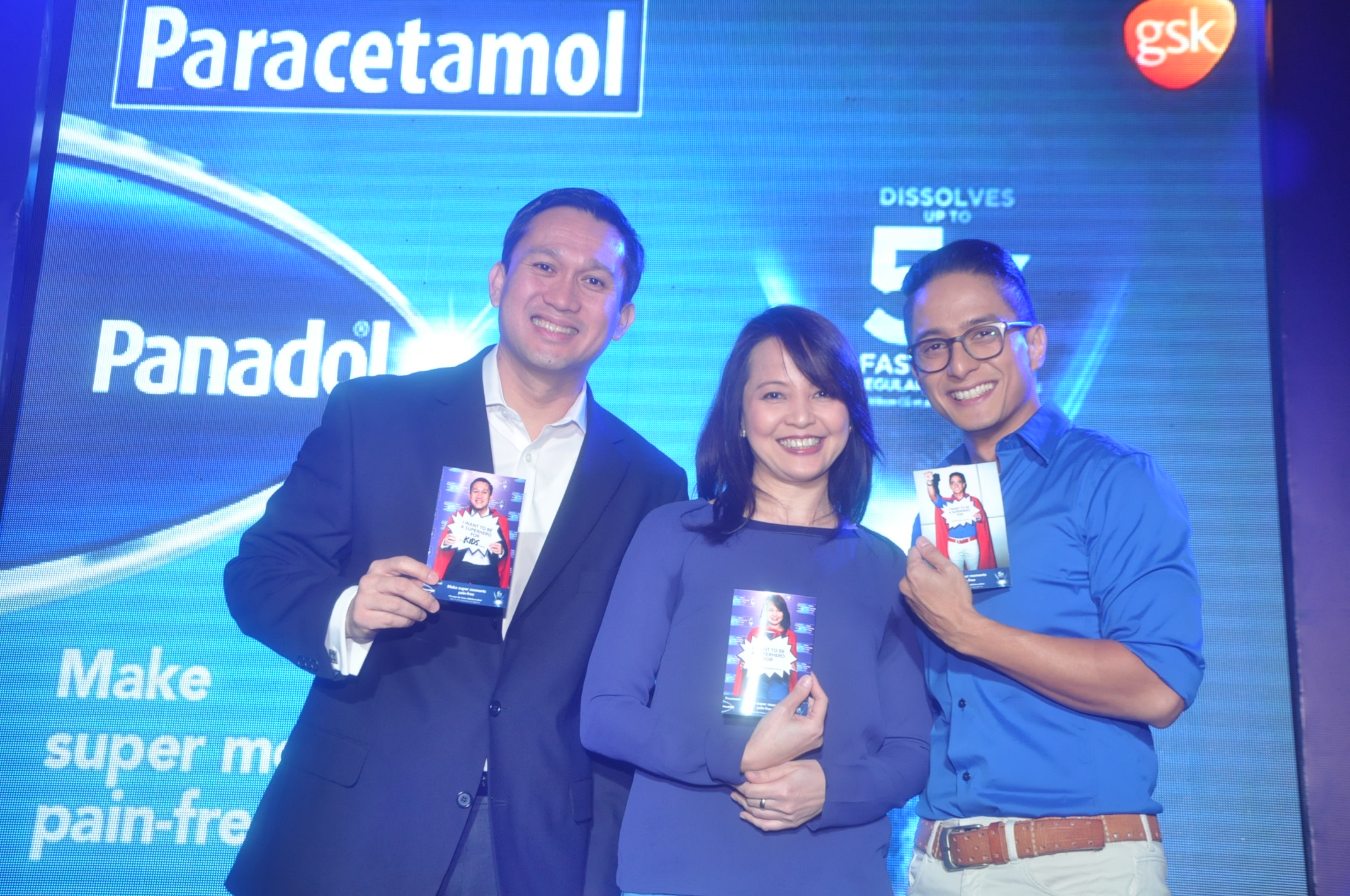 Mr. Jeoffrey Yulo, General Manager, GSK Consumer Healthcare; Dr. Joy Luat-Inciong; Ryan Agoncillo (1)