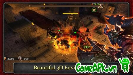 Demonrock: War of Ages v1.05 hack tiền cho Android