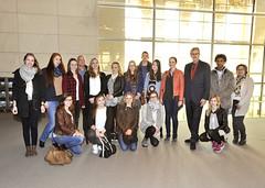 Schülerinnen und Schüler des St. Anna Gymnasiums zu Besuch in Berlin - 19. März 2015