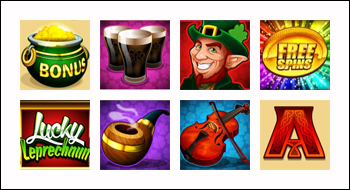 free Lucky Leprechaun slot game symbols