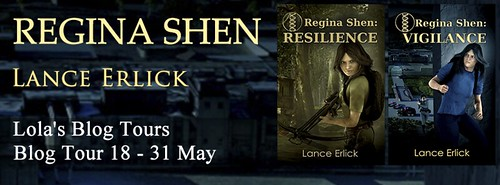 Blog Tour: Regina Shen by Lance Erlick