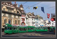 Tram Basel am Barfüsserplatz, 23.März 2015