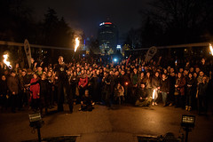 Romania_Bucharest_The audience in Herastrau Park enjoying Earth Hour_copyright Doru Oprisan