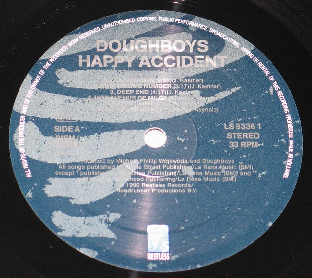 "DOUGHBOYS - HAPPY ACCIDENTS 12"" Vinyl LP"
