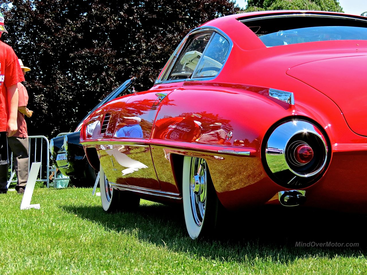 Desoto Adventurer II Ghia Coupe at Hershey Rear