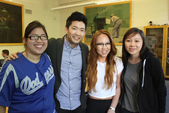 Phil Yu and students