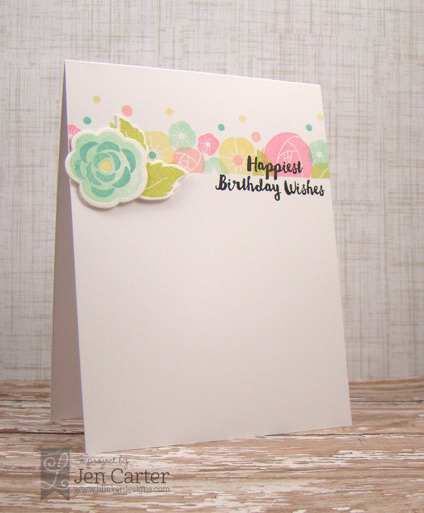 Jen Carter Awesome Blossom Birthday Wishes WM