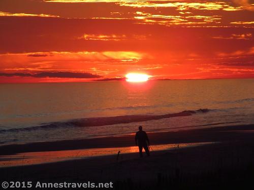 Sunset on Holden Beach, North Carolina
