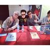 Con @capitangallardo firmando libritos!