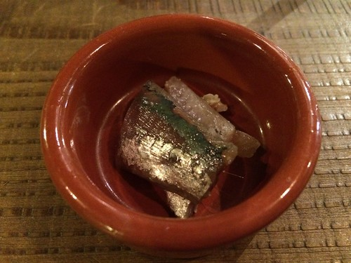 鯖の麹のマリネ@サーモンアンドトラウト