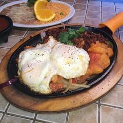 Fonda Don Chon Breakfast Comal