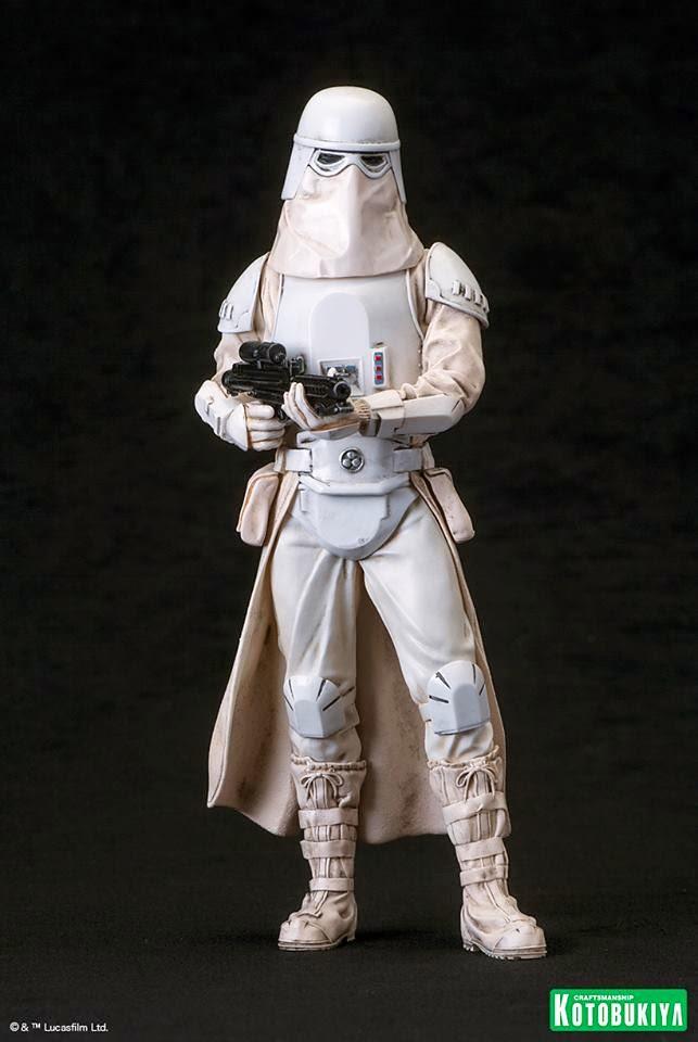 壽屋 ARTFX+ 系列【帝國雪地兵雙人組合包】星際大戰 Snowtrooper 1/10 比例