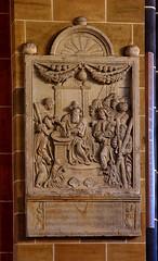 """Bremen, Deutschland, Dom """"St. Petri"""", monument to Oldewagen †1595"""