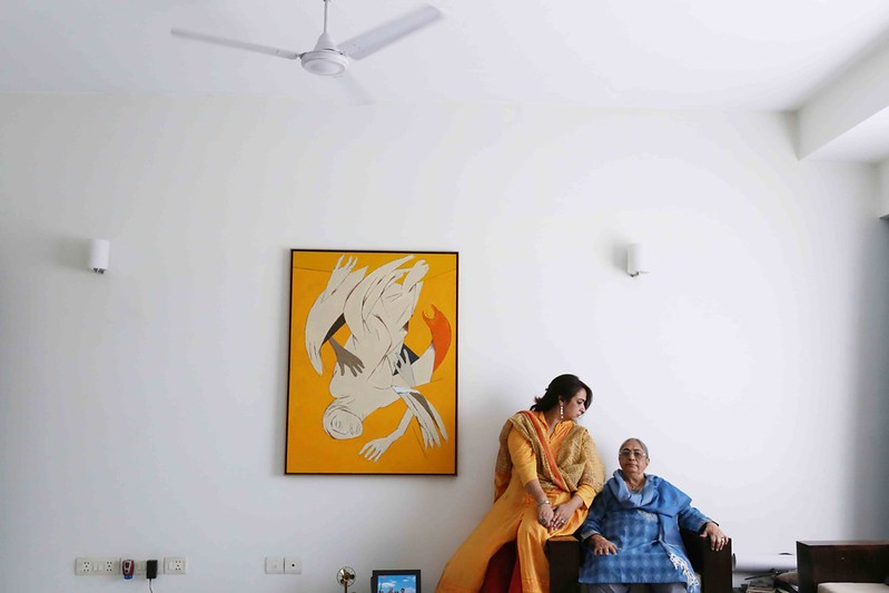 Photo Essay - Sakina Mehta's Material Memories of Artist Tyeb Mehta, Greater Kailash-I