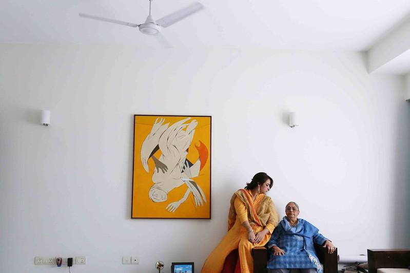 Photo Essay - Sakina Mehta's Material Memories of Artist Tyeb Mehta, Greater Kailash-I