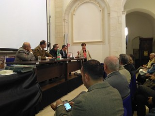 La presidente Valentino insieme ai relatori