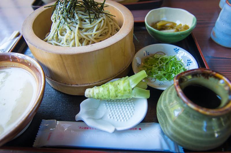 wasabi soba