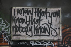 Nobody Knows That I..... stories