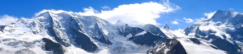 Besteigung mit Bergführer Piz Bernina, 4049 m, Überschreitung Piz Palü, 3901 m. Foto: Günther Härter.