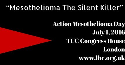 #ADAO is excited to be joining London Hazards Center 11th Action #Mesothelioma Day on July 1! #Asbestos