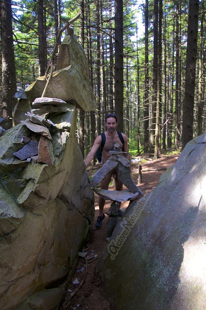 naturist 0013 Appalachian trail, Vermont, USA