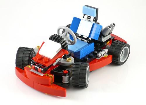 LEGO Creator 31030 Red Go-Kart 03