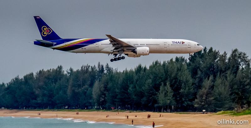 Airplanes at Phuket Airport