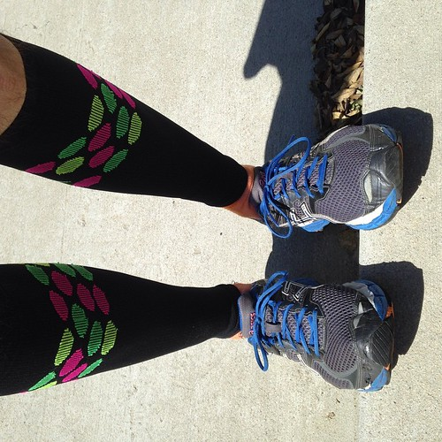 Running shoes for running again. First run back. Is this winter? 91F and clear. #sandiego #asics #RunningwithRRS