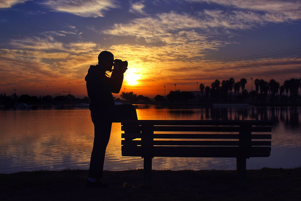 #sky #silhouette