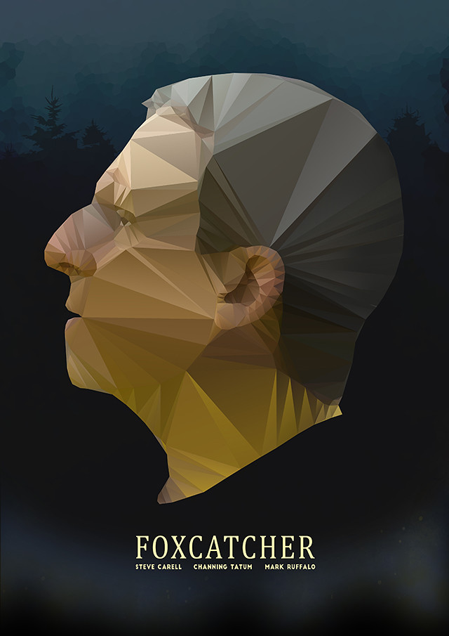 Foxcatcher poster design