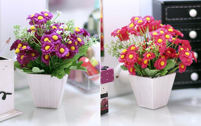 1diy faça você mesmo vasos de flores