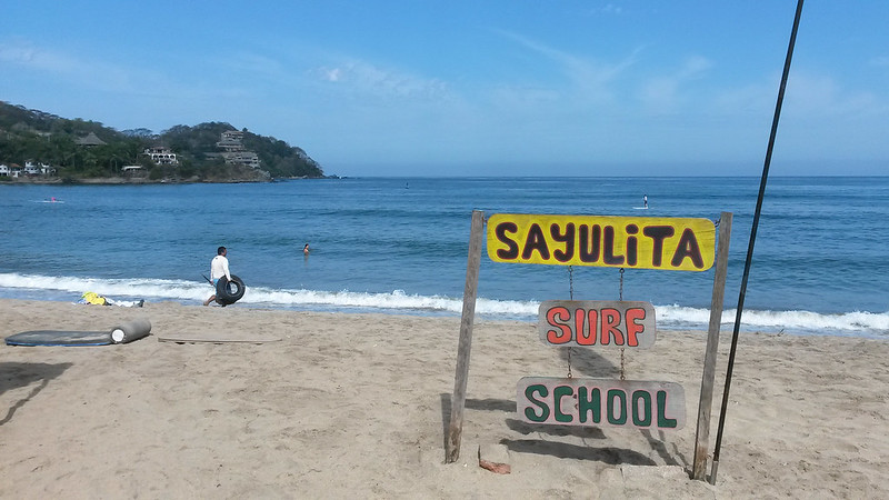 surf school, Sayulita, Mexico