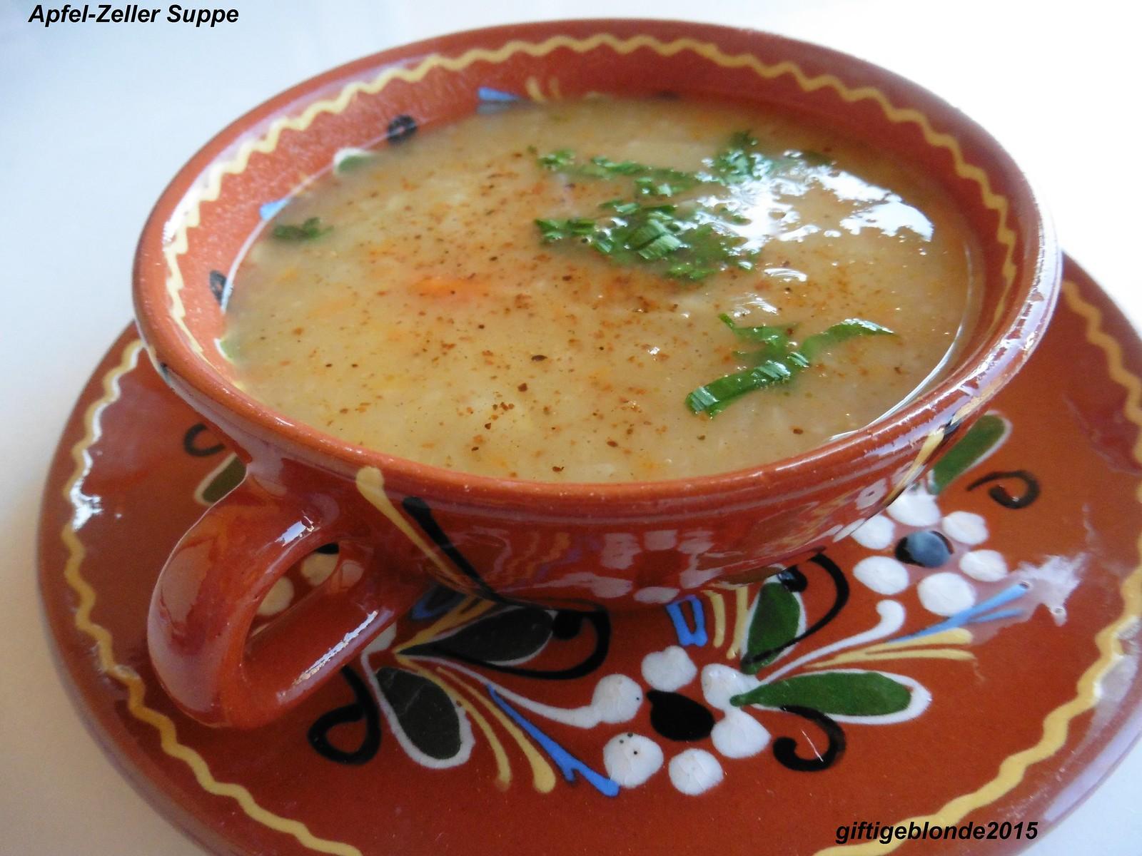 Apfel-Zeller Suppe
