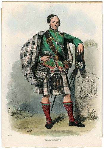 012-Clans_of_the_Scottish_Highlands_1847_Plate_043-The Metropolitan Museum of Art-Thomas J. Watson Library