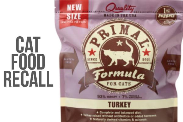 primal dog food recalls