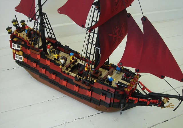 Pirate ship Lucretia