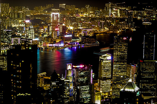 hk night canon harbor view taiwan peak hong kong taipei nightview traveling
