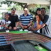 Slot car racing birthday party today with Racing Party Event. #mobileslotcarracing #mobileslotcarparty #racingpartyevents by racingpartyevents