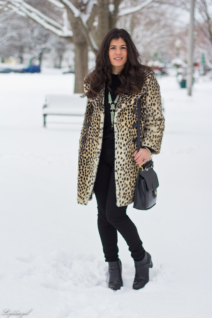 spring snow, leopard coat, black sweater-1.jpg