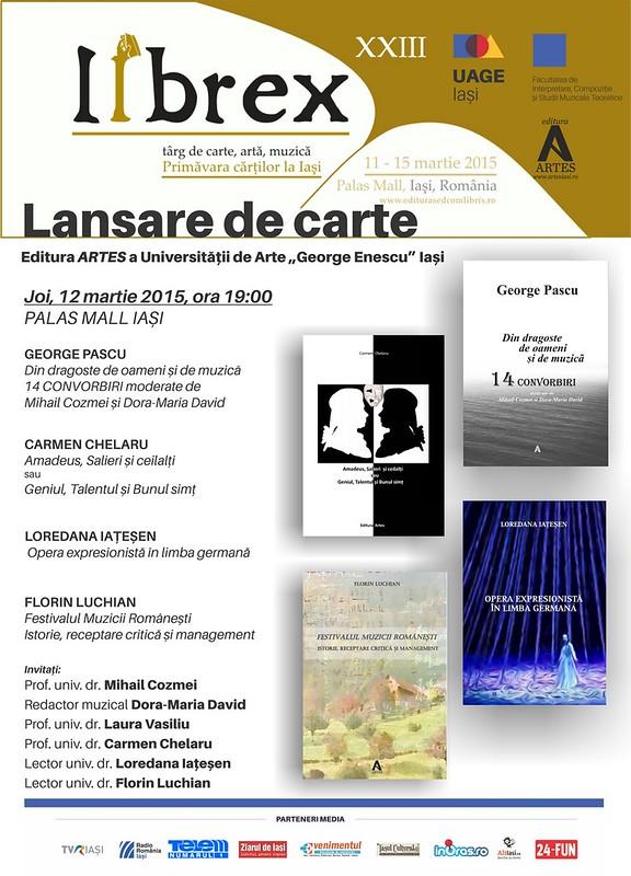 2015.03.12.Lansare cartea Artes la Librex