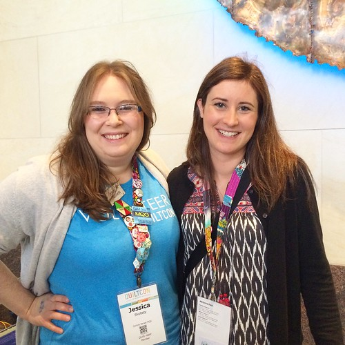 With Jess from Quilty Habit