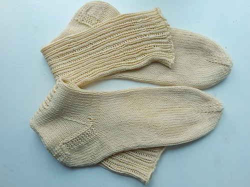 носки вместе сложены
