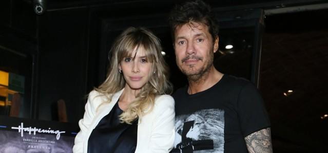 Tinelli y Guillermina Valdés