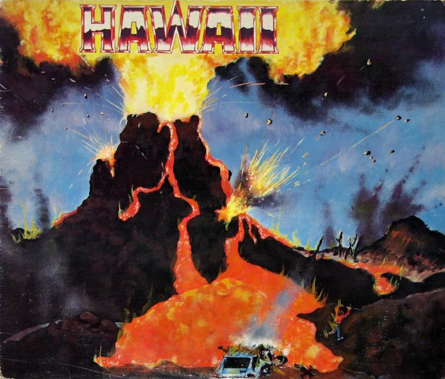"HAWAII - ONE NATION UNDERGROUND SHRAPNEL  Marty Friedman 12"" Vinyl LP"