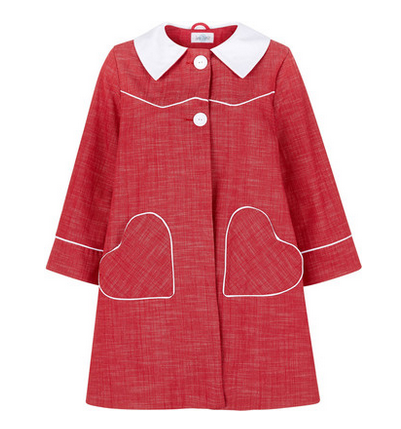 tara starlet heart coat